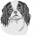 japanchin002 Japanese Chin (small or large design)