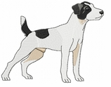 jrt009 Jack Russell /Parson Terrier (small or large design)