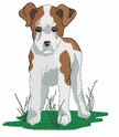 jrt012 Jack Russell /Parson Terrier (small or large design)