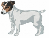 jrt014 Jack Russell /Parson Terrier (small or large design)