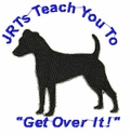 jrt028 Jack Russell /Parson Terrier (small or large design)