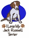 jrt031 Jack Russell /Parson Terrier (small or large design)