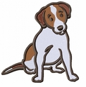 jrt032 Jack Russell /Parson Terrier (small or large design)