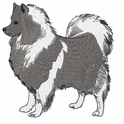kees004 Keeshond (small or large design)
