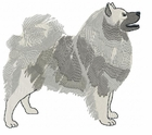 kees005 Keeshond (small or large design)