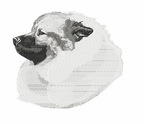 kees007 Keeshond (small or large design)