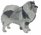 kees008 Keeshond (small or large design)