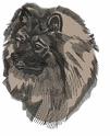 kees009 Keeshond (small or large design)