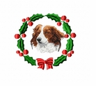 kork1wreath Kooikerhondje (small or large design)