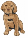 lab041 Labrador Retriever (small or large design)