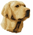 lab060 Labrador Retriever (small or large design)