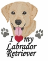 lab130 Labrador Retriever (small or large design)