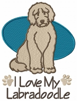 labra002 Labradoodle (small or large design) - Click to enlarge