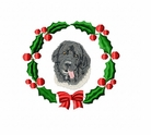 land1wreath Landseer (small or large design)