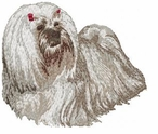 lhasa004 Lhasa Apso (small or large design)