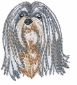 lhasa014 Lhasa Apso (small or large design)