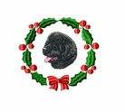 newf1wreath Newfoundland (small or large design)