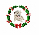 norfolk1wreath Norfolk Terrier (small or large design)