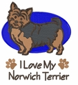 norwich006 Norwich Terrier (small or large design)