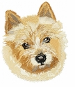 norwich009 Norwich Terrier (small or large design)