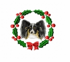 pap2wreath Papillon (small or large design)