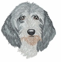 pbgv007 Petit Basset Griffon Vendeen (PBGV) (small or large design)
