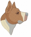 pbt005 Pit Bull Terrier (small or large design)