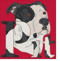 pbt013 Pit Bull Terrier (small or large design)