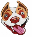 pbt015 Pit Bull Terrier (small or large design)