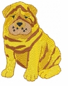 pei003 Chines Shar Pei (small or large design)