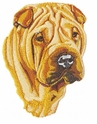 pei005 Chines Shar Pei (small or large design)