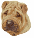 pei016 Chines Shar Pei (small or large design)