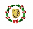 pei6wreath Chines Shar Pei (small or large design)