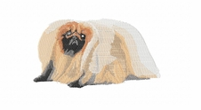 pekin001 Pekingese (small or large design)