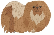 pekin003 Pekingese (small or large design)