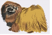pekin004 Pekingese (small or large design)