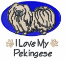 pekin006 Pekingese (small or large design)