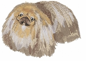 pekin008 Pekingese (small or large design)