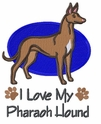 phar004 Pharoah Hound (small or large design)