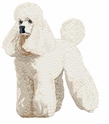 pood004 Poodle (small or large design)