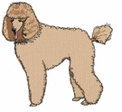 pood014 Poodle (small or large design)