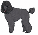 pood017 Poodle (small or large design)