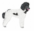 pood019 Poodle (small or large design)