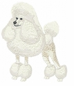 pood023 Poodle (small or large design)