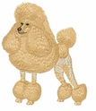 pood024 Poodle (small or large design)