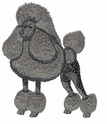 pood025 Poodle (small or large design)