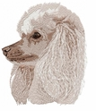 pood035 Poodle (small or large design)
