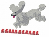 pood036 Poodle (small or large design)