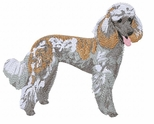pood046 Poodle (small or large design)