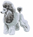 pood049 Poodle (small or large design)